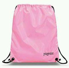 Pink Jansport sling bag