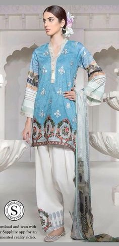 Pakistani Suits, Asian Style, Indian Outfits, My Wardrobe, Indian Fashion, Stitch Patterns, Lawn, Casual Dresses, Tunic Tops