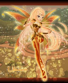 Hanna Bloomix Couture by AstralBlu on DeviantArt Character Poses, Character Design, Magic Wings, Alternative Disney Princesses, Les Winx, Bloom Winx Club, Mermaid Fairy, Disney Princess Art, Fairy Coloring
