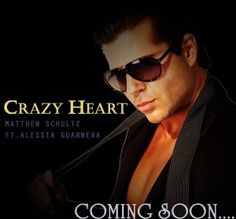 Crazy Heart by Matthew Schultz ft. Alessia Guarnera A Timeless Theme We Can All Relate To Top 40 Charts, Crazy Heart, Press Kit, Hit Songs, New Music, Itunes, Hip Hop, Actors, Pop