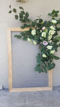 Sign board florals