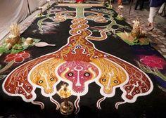 Kalamezhuthu Art