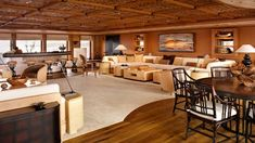 pelorus yacht interior | The main saloon | photo by Bob Marchant/courtesy of Terence Disdale ...