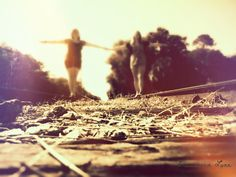 """Two Friends on the Tracks"" - The PicsArt Photo of the Day for Tuesday, September 4, 2012 - http://checka8796.picsart.com/3922102    #picsPOTD #picsart"