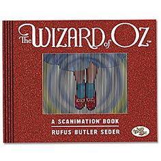Wizard Of Oz™ Scanimation Book