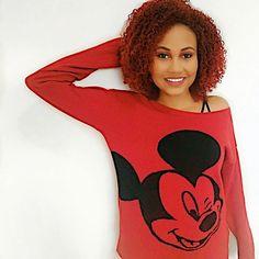 Aquela blusa de frio linda Mickey Mouse