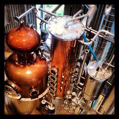 Gin and Vodka Distillery in Door County, WI #Instagram