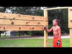 Isaac completing American Ninja Warrior training course. 7- 14-14 ...