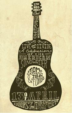 tom catmull & john floridis gig poster