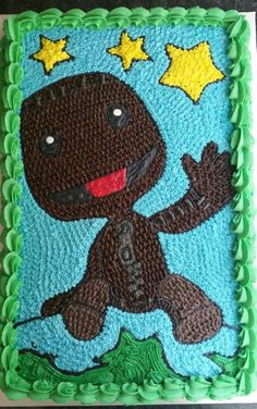 Little Big Planet Birthday Cake