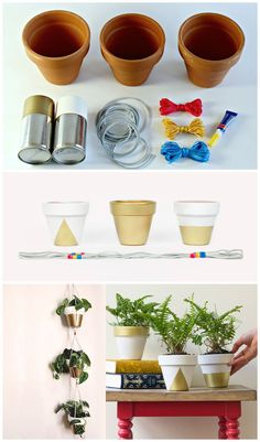 Hanging planter kit by A Beautiful Mess for Darby Smart