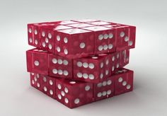 Cubic Rubic Dice - Dice, Cubic, Red, Game, Other, Domino, Red Dice