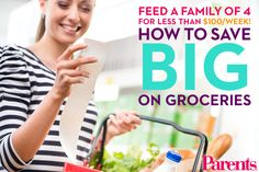 Don't miss our very best tips for saving some $ at the grocery store.