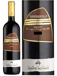 """Monte Schiavo """"Sassaiolo"""" Rosso Piceno DOC (2010)"""