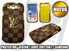 *NUEVO*- PROTECTOR+DISEÑO [ LOUIS VUITTON] PARA SAMSUNG GALAXY S3 / DISEÑO & ORO - SOLO EN MGWIRELESS!!! https://www.facebook.com/mgwirelesstj