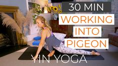 Attention you Yin Yoga lovers out there. Another drop to the YT channel.  This is a short, lower body focused Yin class. I've built the sequence to lead us to pigeon pose which asks us to dig a little deeper into the hip rotators.   This is a great video if you're short on time or have a specific need to stretch out the legs & hips.  Check it out, give it a go and hit 'subscribe' to my channel!  #yoga #mindfulness #yin #grounded #yinyogateacher #yogajourney #yinpower Online Yoga Classes, Pigeon Pose, Yin Yoga, Great Videos, Yoga Teacher, Channel, Mindfulness, Lovers, Drop