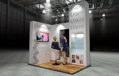 x Modular Exhibition Stand – 1 Slat Wall, Exhibition Stands, Stand Design, Concept, Store, Larger, Shop, Booth Design