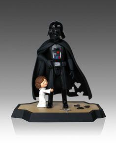 Darth Vader and Son e Vader's Little Princess – Figuras Adoráveis!