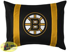 Boston Bruins Sham - Sidelines Design