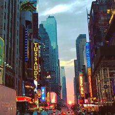 Manhattanhenge 2016 #NewYork by leytol