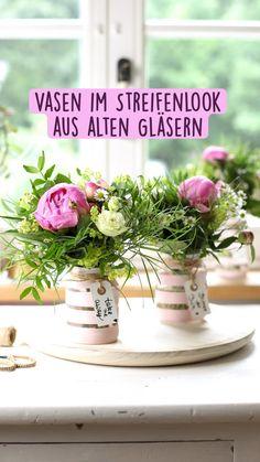 Romantic Home Decor, Diy Greenhouse, Mason Jar Gifts, Vase, Washi Tape, Diy Gifts, Repurposed, Upcycle, Table Decorations