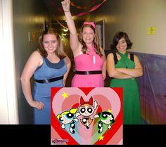DIY Group Halloween Costume- Powerpuff Girls