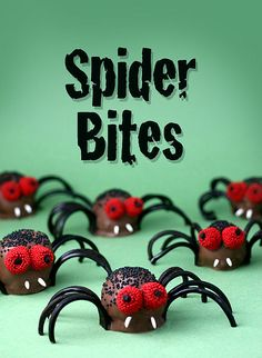 Spider Bites | #fall #autumn #halloween #treats