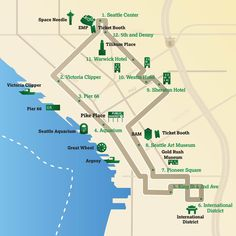 seattle center monorail map » Path Decorations Pictures | Full Path ...