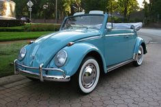 """Volkswagen, Love the light blue retro """"punch buggy"""" *sigh*"""