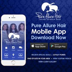 """The Pure Allure Mobile App is now available!!  Download the app to start earning Loyalty Points. Every $1 spent is worth 1 Loyalty Point. Loyalty Points are redeemed in increments of 75 points. Every 75 points gets you $5 off of your next purchase. These points can be stacked, for example if you have 150 points, you can receive $10 off of your next purchase. When completing an order online, enter your Profile name in the """"Order Notes"""" section."""