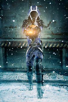 Mass Effect, Tali'Zorah I by *Nebulaluben