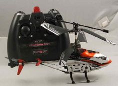 """Under $25 4ch RC Helicopter control 6 directions """"Drift King"""""""
