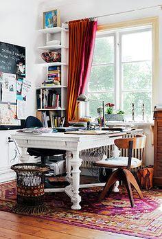 study / workroom