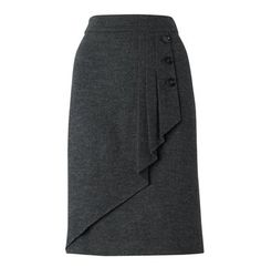 Great skirt front detail