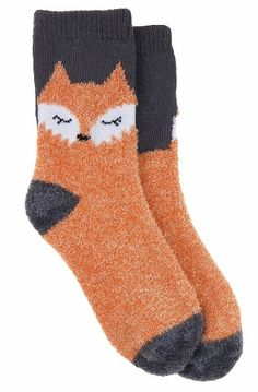 Women's Sleepy Fox Cozy Socks and other apparel, accessories and trends. Browse and shop 8 related looks. Fox Socks, Cute Socks, Awesome Socks, Leggings, Tights, Camisa Lisa, Orange Socks, Crazy Socks, Sock Shoes