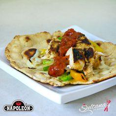 Greek Marinated Chicken in Fresh Homemade Pita