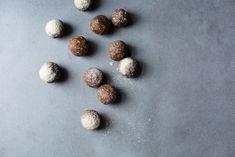 Raw Eggnog Bliss Balls (Vegan + Gluten Free) by The Green Life