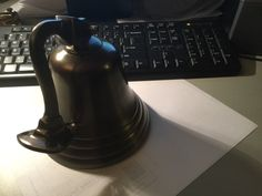Aluminum bell Alluminium bell small not noticeable scratch