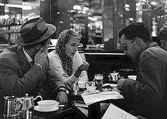 Jean Luc Godard avec Jean-Paul Belmondo, Jean Seberg en 1959 pendant le tournage du film A Bout de Souffle. (©Cauchetier/Rue des Archives)