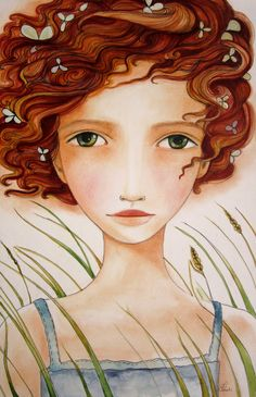 red hair in the wind-claudia tremblay