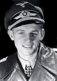 """Erich """"Bubi"""" Hartmann, known as the Black Devil during World War II, was the greatest ace fighter pilot in the history of aviation with a credited 352 kills."""