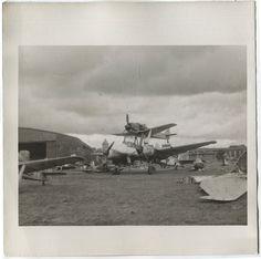 WWII US Foto LEIPZIG-Mockau Einmann-Bunker Focke Wulf Fw-190 Ju-88 Mistel 1945 | eBay