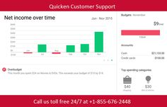 Call #Quicken Customer #Support Number for assistance.