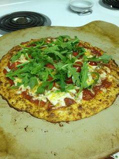 Long Distance Foodies: Carb-Free Pizza!