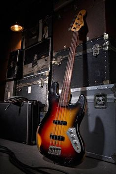 Jaco's tribute bass by Fender