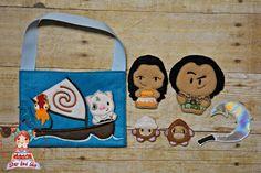 Moana inspired finger puppets. Felt finger puppets. Finger family. Animal finger puppets. Felt toys. Gift for children. Party Favors by StarAndSkyCreations on Etsy https://www.etsy.com/listing/491160092/moana-inspired-finger-puppets-felt
