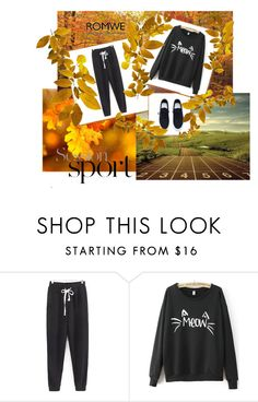 """Romwe 3"" by magicofthemoment ❤ liked on Polyvore"
