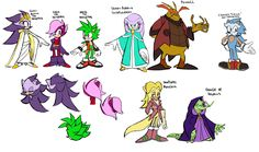 Sonic Underground updated /re-re-designs by Drawloverlala on DeviantArt Sonic The Hedgehog, Hedgehog Art, Game Sonic, Sonic 3, Egyptian Tattoo Sleeve, Sonic Underground, Little Engine That Could, Sonic Heroes, Sonic Fan Characters
