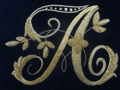 Gold Embroidery Pinterest Gold Embroidery