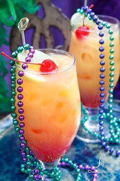 Mardi Gras Dress-up Drinks